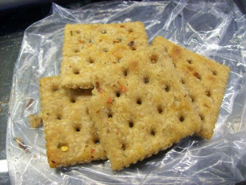 Hot Cajun Wheat Crackers