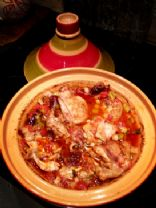 Moroccan Chicken Tagine with dates