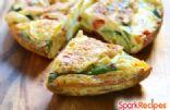 Crustless Bacon & Asparagus Quiche