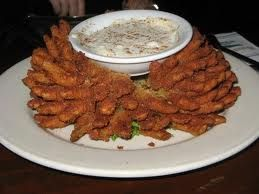 Easy Baked Blooming Onion