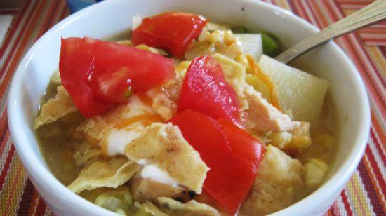 Vegetable Chowder with Chicken