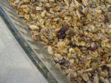 Chocolate Chip Cranberry Granola Bars