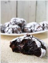 Deep Dark Chocolate Cookies-No butter & Flourless