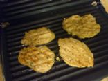 Galettes minute (patties in a minute)