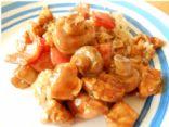Chicken & Veggies with Thai Peanut Sauce
