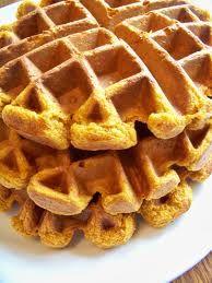 Pumpkin waffles Revised