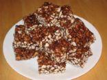Puffed Wheat Squares with Splenda Brown Sugar Blend