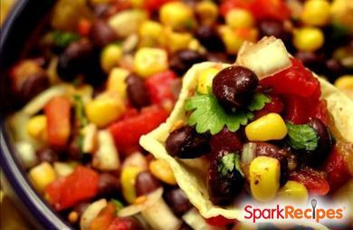 Bean, Corn & Avocado Salad