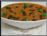 Rajma(Spicy kidney beans Gravy)