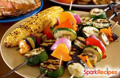 Grilled Vegetables with Pineapple