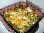 Low Carb Chicken Spinach Casserole