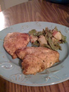 Oven Fried Chicken, Veggies and Red Potatoes