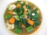 Vitamin Packed Blood Cleansing Spinach and Veg Soup