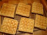 Whole Wheat Flaxseed Belgian Waffles