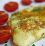 Ham and Green Pepper Omelette