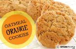 Oatmeal Orange Cookies (Diabetes Friendly)