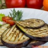 Honey Garlic Grilled Eggplant