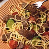 Italian beef stir fry