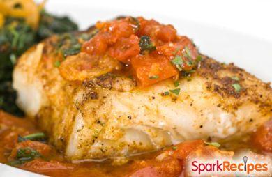 Mediterranean Baked Fish RECIPE