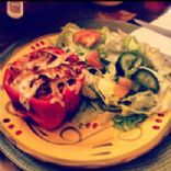 Healthy Quinoa and Ground Turkey Stuffed Bell Peppers
