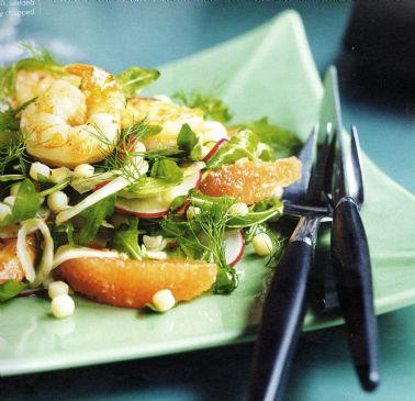 Prawn, Grapefruit & Fregola Salad