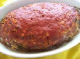 Turkey/Beef Meatloaf (Low Carb, High Protein)