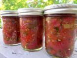 Fresh Garden Salsa-For Canning