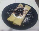Dairy-Free Heavenly Vanilla Raspberry Crepes