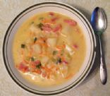 Cheesy Potato & Ham Soup - Crock Pot