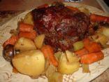 crockpot eye of round roast