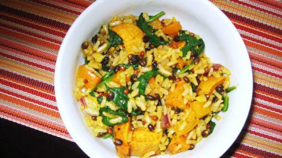 Sweet Potato Rice Salad