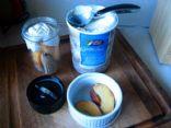 Peachy Banana Vanilla Bean Milkshake