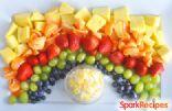 Pot o' Gold Rainbow Fruit Tray
