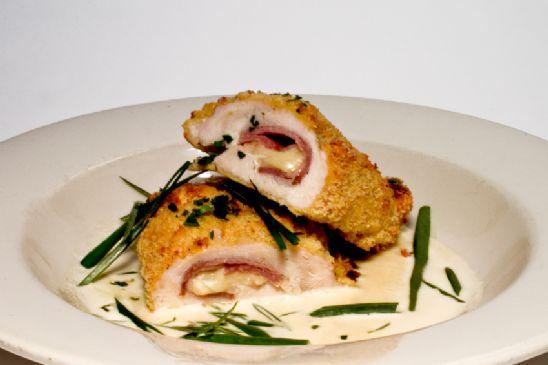 Chicken Cordon Bleu Alfredo