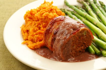 Mashed Sweet Potatoes and Celery Root