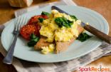 Feta & Spinach Scramble