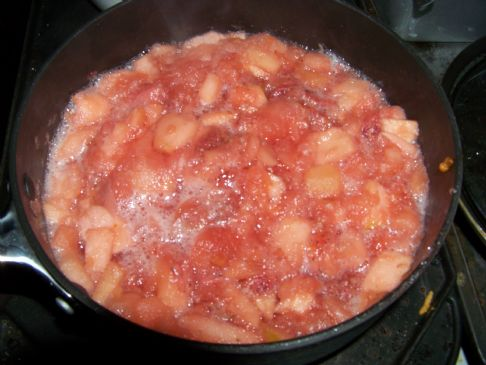 apassifan strawberry ginger applesauce