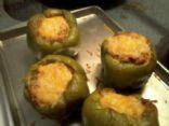 Chicken Enchilada Stuffed Bell Peppers