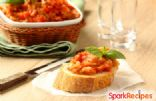 Easy Eggplant Bruschetta
