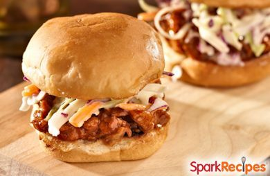 Slow Cooker BBQ Pulled Pork Sandwiches