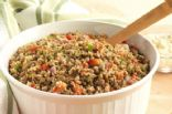 Herbed Bulgur and Lentil Salad