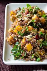 Butternut squash Quinoa with Cranberries