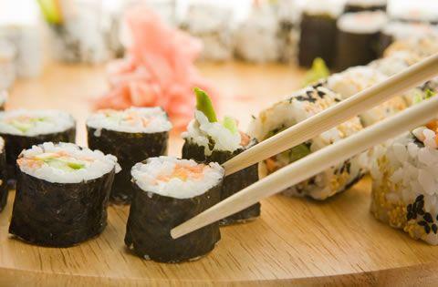 Philadelphia Roll (Sushi) 1 Roll=1 serving