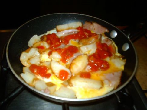 Heuvos Ranchero Spanish Tortilla