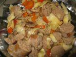 Turkey Italian Sausage with Artichoke Hearts