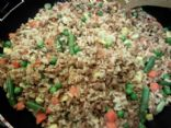 Vegetarian Fried Rice - with