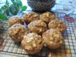 Apple Cinnamon muffins made from Sparkpeople's multi purpose baking mix