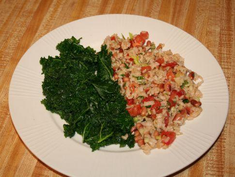 21 Day Menu - Hoppin' John Salad