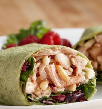 CHS Signature Chicken Salad on Whole Wheat Wrap