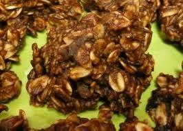 No Bake Chocolate Oat Cookies